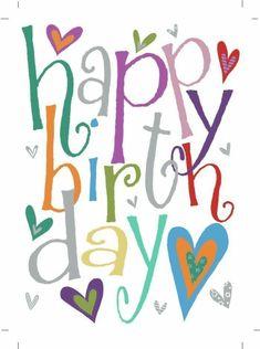Happy Birthday Wishes Cards, Birthday Blessings, Happy Birthday Pictures, Birthday Wishes Quotes, Happy Birthday Quotes, Happy Birthdays, Birthday Pins, Birthday Love, Happy B Day