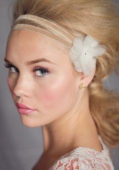 """Becoming"" Iridescent Flower Indie Headband"