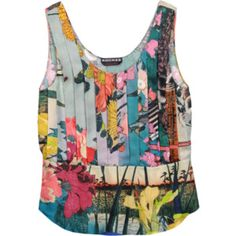 I love singlets like this but never wear them because it's hard to mix with my skirts