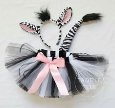 Pre Sale ZEBRA Halloween Costume Tutu Includes by taddletellshop Zebra Halloween Costume, Cute Halloween, Halloween Costumes For Kids, Halloween Makeup, Baby Costumes, Dance Costumes, Animal Costumes For Kids, Tulle Costumes, Purim Costumes