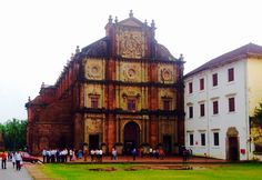 The Basilica of Bom Jesus or Borea Jezuchi Bajilika is located in Goa, India, and is a UNESCO World Heritage Site. The basilica consecrated in May 1605 by the archbishop, Dom Fr. Aleixo de Menezes holds the mortal remains of St. Francis Xavier.