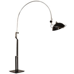 Vintage italian chrome arc lamp with marble base vintage italian also trending on pinterest aloadofball Images