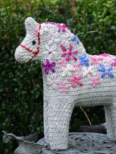crochet dala horse