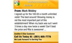 I signed up for the 100.00 a month unlimited visits! The best around! Showing money is...