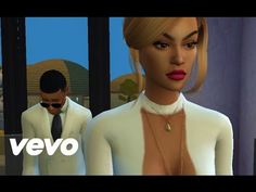 Beyonce - Sandcastles  (Official Music Video: The Sims 4)