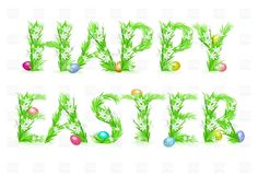 Happy Easter - floral greeting card, Backgrounds, Textures ...