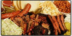 Brisket, Sausage and Ribs. Slow Smoked with Red Oak, Texas BBQ Smokehouse Meats.