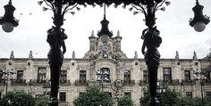 Exterior view of the Government Palace, #Guadalajara, #Mexico. (Exterior del Palacio de Gobierno) Photo: María de Lourdes Alonso