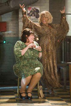 John Travolta and Queen Latifah in Hairspray