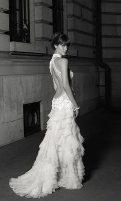 cymbeline, Paris French wedding dress  via French Wedding Style #wedding #dress #inlove