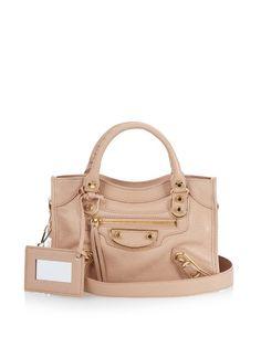 20280452ef6 Classic Mini City metallic-edge cross-body bag by Balenciaga
