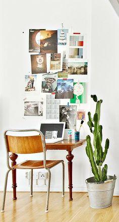 Small space living - via Coco Lapine Design