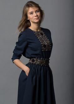 Женская одежда. Этно. Русский стиль. Обже