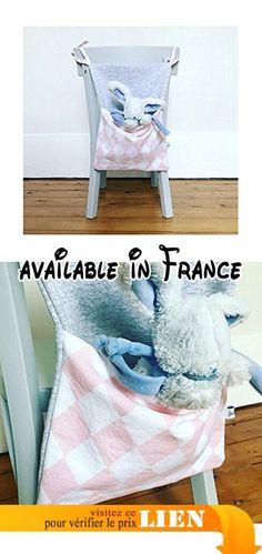 Range doudou ou range pyjama - Motif blanc/rose.  #Guild Product #GUILD_HOME