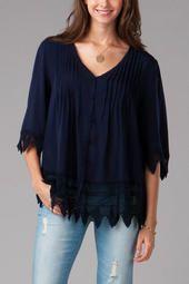 Laconia Crochet Blouse