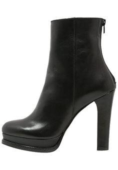 Chaussures Mai Piu Senza Bottines à plateau - nero noir: 140,00 € chez Zalando (au 05/11/16). Livraison et retours gratuits et service client gratuit au 0800 915 207.