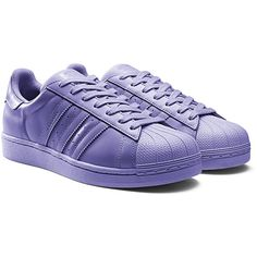 finest selection dcc63 16540 CHECK OUT ALL 50 PHARRELL X ADIDAS SUPERCOLORS! Sneaker Freaker ❤ liked on  Polyvore featuring