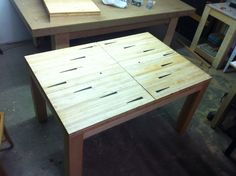 Bowling Alley Extension Table