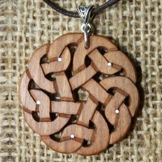 Jewellery at Fretmajic- Celtic Wooden Jewellery