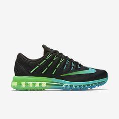 Nike Air Max 2016 Mens Running Shoes 12 Black Turquoise Clear Jade 806771 003 #Nike #RunningCrossTraining