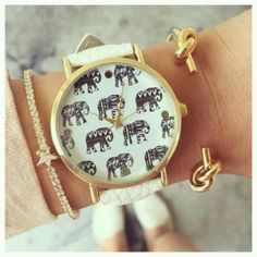 Quality Sports & Entertainment with free worldwide shipping on AliExpress Pandora Jewelry, Charm Jewelry, Pandora Charms, Fancy Watches, 2016 Trends, Love Gifts, Bracelet Watch, Elephant, Bling