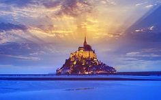 Mont St Michel , Normandy, France