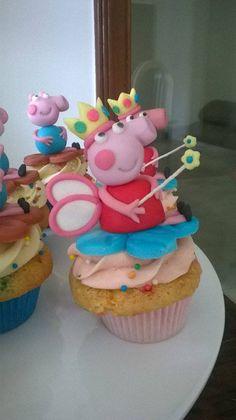 Cupcake Peppa Pig Fada dos Dentes