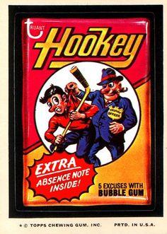 Hookey Bubble Gum 9th Series (1974)