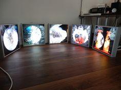 "Saatchi Online Artist Paula Garcia Stone; Installation, ""light boxes"" #art"