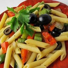 Bell Peppers and Pasta - Taste of Home