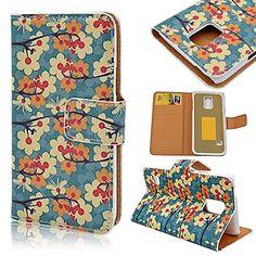 Nodelec® Hülle Tasche Wallet Case Flip Cover Hüllen Schutzhülle Etui Ledertasche Lederhülle Premium mit Standfunktion für Samsung Galaxy S5 I9600 G900F
