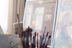 The painterstudio