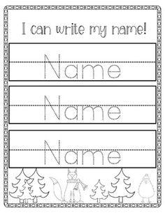 editable pre school or kindergarten name tracing sheets spanish bilingual classroom ideas. Black Bedroom Furniture Sets. Home Design Ideas