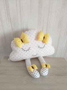 37 my girl's pink pom pom bedroom 8 Cloud Cushion, Cloud Pillow, Cushion Pillow, Cloud Nursery Decor, Clouds Nursery, Girl Nursery, Baby Pillows, Kids Pillows, Throw Pillows