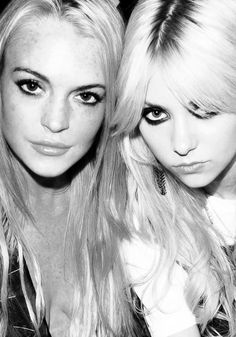 Lindsay Lohan and Taylor Momsen | My two favourite people