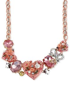 Betsey Johnson necklace at Macy's