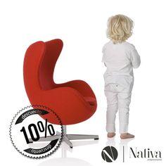 Este mes del niño – Sillón Egg para niños Durante todo Abril 2018 sillón Egg para niños de $8,699 a $7,699 (IVA incluido) Colores: Rojo Promoción válida hasta el 30 de Abril o agotar existencias #SillónEgg #ArneJacobsen #NativaInteriorismo #MueblesDeDiseño  #Mexico #CDMX #RomaSur #LaRoma #TiendaDeMuebles #Muebles #Furniture #Diseño #Design #Decoracion #Decoration #Arte #Art #Interior #Interiores #Niños #Kids #Sillón #Estilo #Calidad #Colores #Colors #Designer #Diseñador…