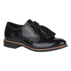 Women's Sperry Top-Sider Fairpoint Tassel Oxford - Black Full Sperry Top Sider, Sperrys, Memory Foam, Fashion Forward, Tassels, Oxford Shoes, Dress Shoes, Lace Up, Silhouette
