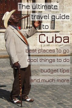 Planning to travel to Cuba? Start your fascinating journey with this ultimate travel guide and discover the beauty of this unique country frozen in time.: