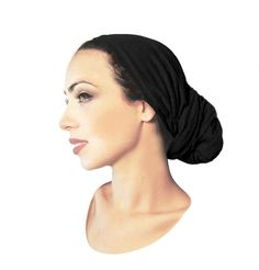 Tichel Hair Snood Head Scarf Chemo Hat Chemo Cap by ShariRoseShop