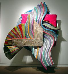 "This artwork called ""The Quadrant"" by Frank Stella is both beautiful and captivating."