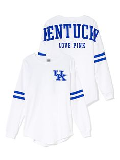 University of Kentucky Varsity Crew: I absolutely love this Victoria's secret shirt