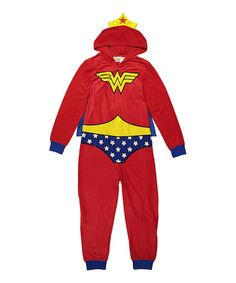 Another great find on #zulily! Wonder Woman Union Suit - Women #zulilyfinds