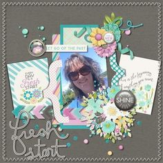 Layout using Fresh Start by Tickled Pink Studio http://sweetshoppedesigns.com/sweetshoppe/product.php?productid=29285&cat=709&page=1