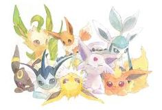 vaporeon and flareon - Google Search