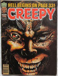 Creepy Magazine #110 August 1979 Fine Horror Comics Warren Publishing Vintage