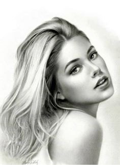 25 Beautiful Portrait Drawings from top artists around the world Pencil Portrait Drawing, Realistic Pencil Drawings, Pencil Art Drawings, Portrait Art, Amazing Drawings, Charcoal Art, Black And White Portraits, Pencil Illustration, Face Art