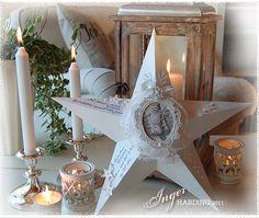Inger Harding - Shabby Chic Christmas Star