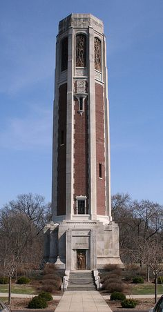 Peabody Memorial Tower, North Manchester by Indiana Landmarks, via Flickr. My mom grew up here.