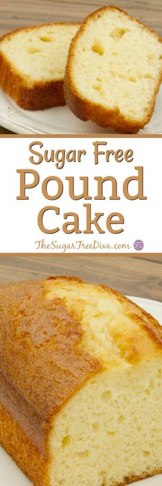 How to Make Sugar Free Pound Cake- such a yummy and easy cake recipe for dessert or any other time.